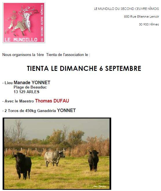 MUNDILLO - Tienta Septembre 2015x